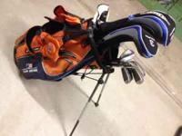 Real nice set of US KIDS Tour Series 6 Golf Clubs