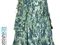 Cloth/Shoes/Accessories: MenType: KiltsUS Navy Camo