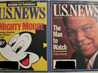 US NEWS & WORLD REPORT LOT AUG 14 & AUG 21 1995 DISNEY
