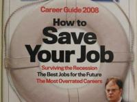 US NEWS & WORLD REPORT MARCH 24 2008 3/24/08 CAREER