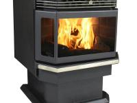 The 5660 Bay Front Pellet Stove is a fully automatic
