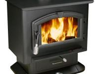 The US Stove 2000 Wood Stove is a mid-sized plate steel