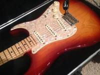 Authentic USA Fender American Standard Stratocaster.