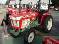 24HP Yanmar Diesel Workhorse. This is our best seller.