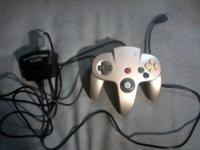 I'm selling an N64 usb adapter that can plug in 2
