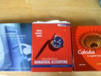 I have the following books for sale: -Management