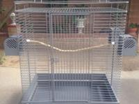 Hello I have a big cage for big birds Very easy to put