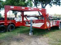 Used 16ft Gooseneck Heavy Duty PipeTop Equipment