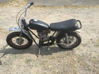 Used 1971 Rupp Speedway Widow maker with 5HP Tecumseh,