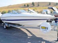 Very Clean utilized watercraft! Fiberglass hull
