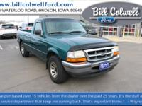 Pacific Green Clearcoat Metallic 1998 Ford Ranger XLT