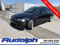 Carbon Black Metallic 2001 BMW M3 2D Coupe RWD 6-Speed