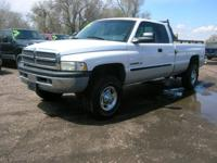 LOW MILEAGE!!! This is a 2002 Dodge Ram 2500 4x4 SLT