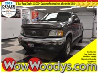 Wow! This 2002 Ford F-150 King Ranch Crew Cab 4x4 is