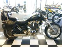 I presently have a 2002 Suzuki Vs1400 Intruder for