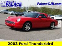 2003 Thunderbird Clean CARFAX **Leather, Heated