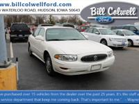 New Price! White 2004 Buick LeSabre Custom FWD 4-Speed