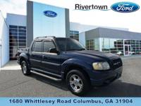 This 2004 Ford Explorer Sport Trac has a Clean CarFax,