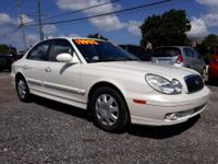 This clean Sonata would be a great car for a student,