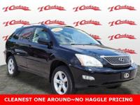 Clean CARFAX. Black 2004 Lexus RX 330 AWD 5-Speed