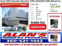 Call for Alan's RV Program. Find other RVs at