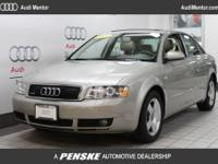 2005 Audi A4 1.8T Special Edition CARFAX One-Owner.