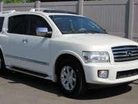 CARFAX 1-Owner. VEHICLE SOLD AS-IS, 2 WHEEL DRIVE. QX56