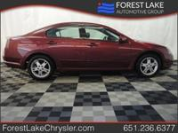 Body Style: Sedan Exterior Color: Ultra Red Pearl