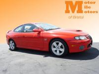Very Very RARE!!! 2005 Pontiac GTO Coupe! This little