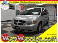 One Owner! This Dodge Grand Caravan SE has a dependable