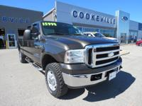 Value Priced Below Market! This 2006 Ford Super Duty