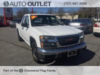 Clean CARFAX. 2006 GMC Canyon Work Truck RWD 5-Speed