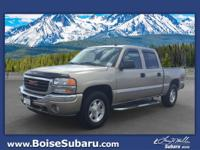 Scores 19 Highway MPG and 15 City MPG! This GMC Sierra