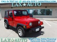 This Jeep Wrangler is in great condition. Has only