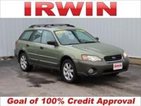 Green 2006 Subaru Outback 2.5i AWD 4-Speed Automatic