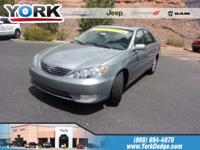 Mineral Green Opal 2006 Toyota Camry XLE FWD 5-Speed