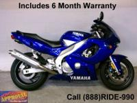Used 2006 Yamaha R-6 sport bike - The king of 600CC