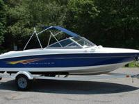 Boat bowrider 2007 Bayliner 175 edition. This one owner