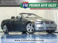 CARFAX One-Owner. Gray 2007 BMW 3 Series 335i RWD