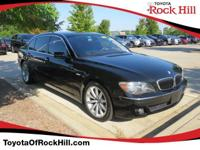 We are excited to offer this 2007 BMW 7 Series. When