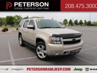 Our 2007 Chevrolet Tahoe LT 4X4 shown in Gold Mist