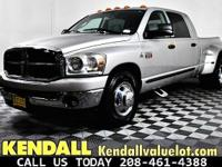 This 2007 Dodge Ram 3500 SLT is available at Kendall