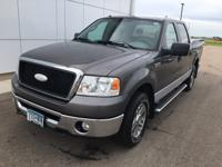 2007 Ford F-150 XLT 5.4L V8 EFI 24V FFV, 4WD.Priced