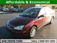 CARFAX One-Owner. This 2007 Ford Focus SE in Pitch
