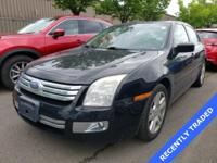 Black Clearcoat 2007 Ford Fusion SEL AWD 6-Speed
