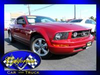 2007 Ford Mustang 2dr Conv Deluxe. Powertrain: 4.0L