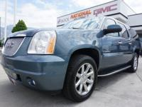 AWD. Blue 2007 GMC Yukon XL Denali AWD 6-Speed