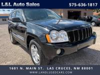 Our 2007 Jeep Grand Cherokee Limited shown in Black