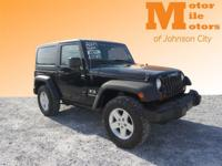 CHECK IT OUT!! JUST ARRIVED!! 2007 JEEP WRANGLER X!!