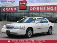 This outstanding example of a 2007 Lincoln Town Car